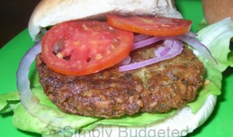 Meatless Monday:  Kale-afel Burger