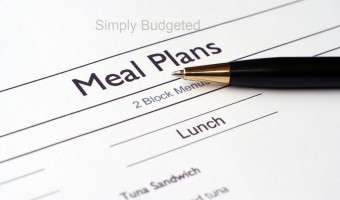 Monthly Meal Plan – August 2011
