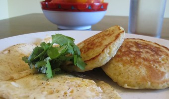 Meatless Monday:  Quinoa Pancakes
