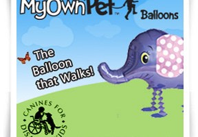 MyOwnPet Balloons – gifts that give!