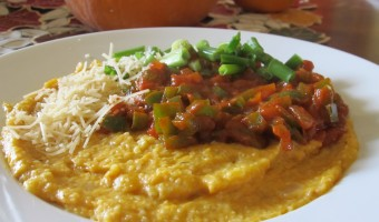 Meatless Monday:  Pumpkin Polenta