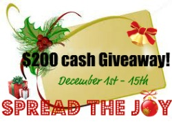 Spread the Joy Giveaway