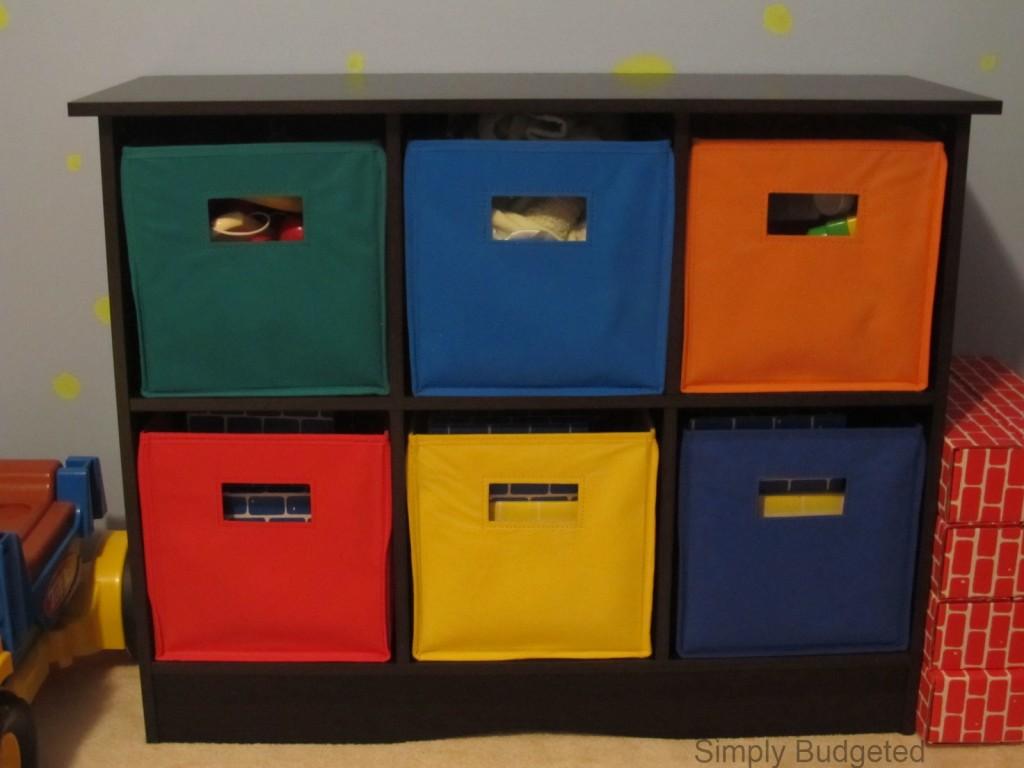 Toy Storage For Boys : Big boy room toy organizer