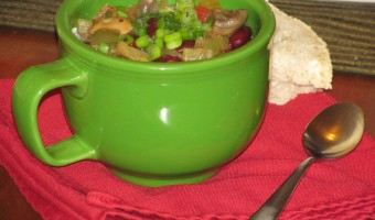 Meatless Monday:  Slow Cooker Vegetarian Garden Chili