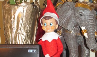 Elf on the Shelf: Day 10