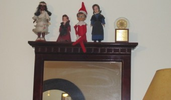 Elf on the Shelf: Day 3