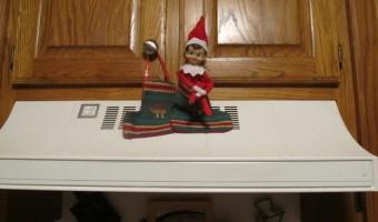 Elf on the Shelf: Day 4