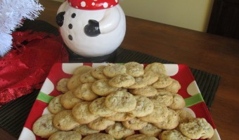 The Great Food Blogger Cookie Swap: Orange Pecan Cookies
