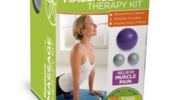 Beth Week: Gaiam Massage Therapy Kit and Yoga