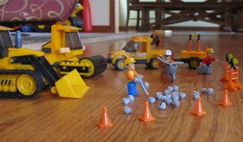 Mega Bloks Construction Site Set