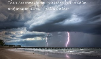 Thursday Thought: Calm or Storm