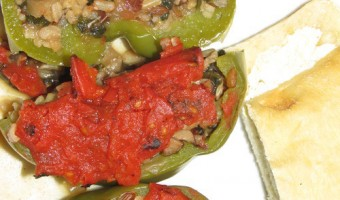 Meatless Monday:  Stuffed Peppers
