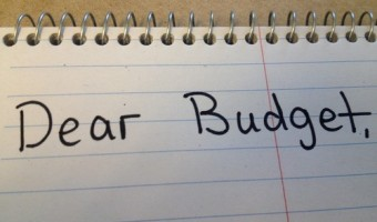 Dear Budget – March 18
