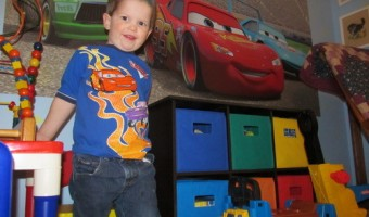 Murals Your Way is Cars in a Big Boy Room