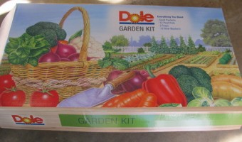 Dole Food Company Garden Kit