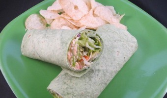 Meatless Monday:  Salad Wrap