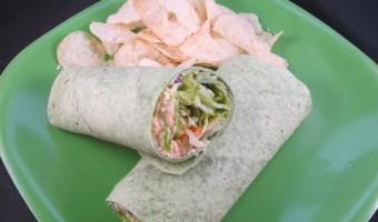 Meatless Monday:  Salad Wrap