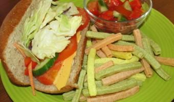 Meatless Monday:  Veggie Subs