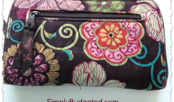 Friday Favorite: Vera Bradley Zip Around Wallet