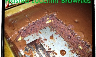 Friday Favorite: Frosted Zucchini Brownies