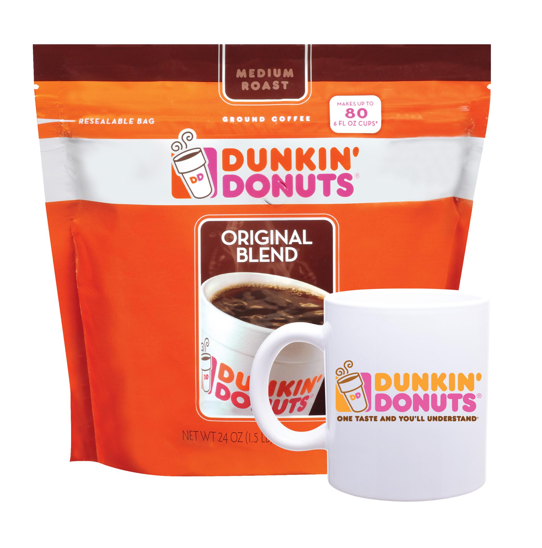 Dunkin Donuts Travel Mug Promotion