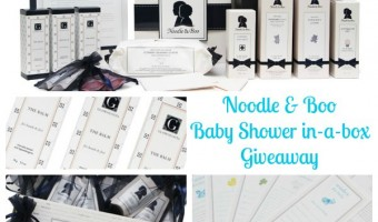 Noodle and Boo Giveaway #babygifts