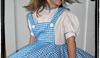 Halloween 2012: Dorothy from the Wizard of Oz