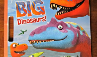 Dinosaur Train: Big, BIG Dinosaurs! Giant Coloring Book