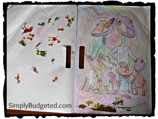 Dinosaur Train: Big, BIG Dinosaurs! Giant Coloring Book