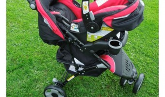 Eddie Bauer Trail Hiker 3-Wheel Travel System #BabyGifts
