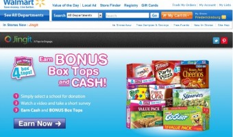 Jingit App Collects Box Tops #jingit4edu