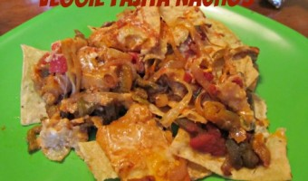 Meatless Monday:  Veggie Fajita Nachos