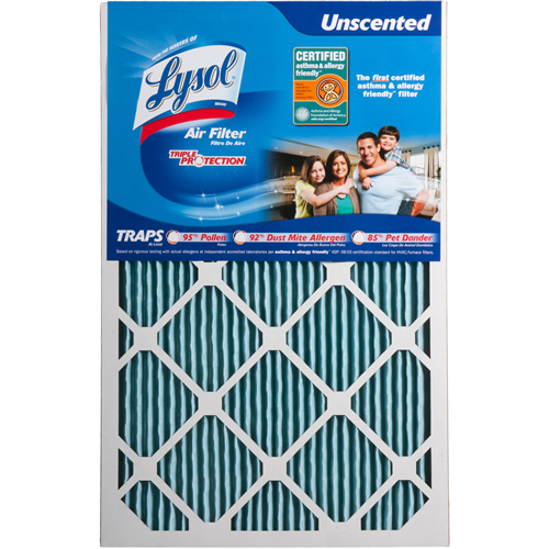 keeping air fresh with lysol air filter