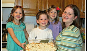 Chef Boyadree Cook-Along, Spaghetti-Rings Bake Recipe, and Giveaway