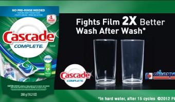 Sparkling Clean in 2013 with Cascade!