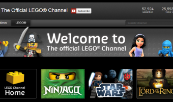 Create Your Own Playlist at The Official LEGO® channel on YouTube