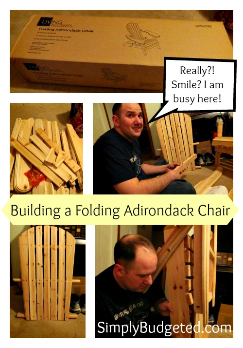 Living Accents Folding Adirondack Chair