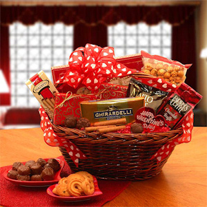 Valentine gift basket giveaway or negle Images