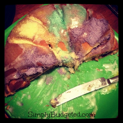 half king cake