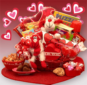 Valentine gift basket giveaway maybe negle Image collections