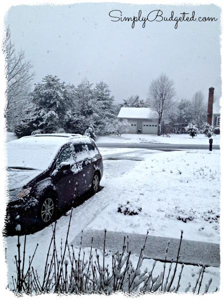 March Snow in Virginia