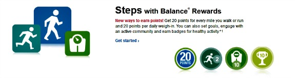 Steps with Balance Rewards at Walgreens