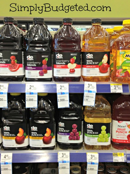 Walgreens Balance Rewards Juice Deal