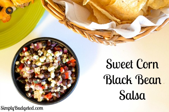 Sweet Corn Black Bean Salsa Recipe