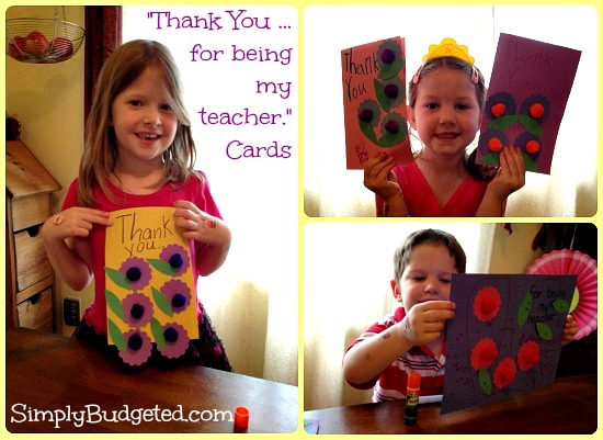 Elmer's Natural Teacher Cards Finished