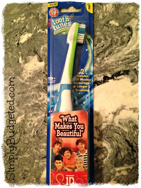 ARM &amp; HAMMER Tooth Tunes One Direction
