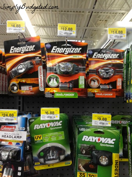 Energizer Work Headlight Options