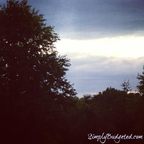 Instagram - After Storm Sunset