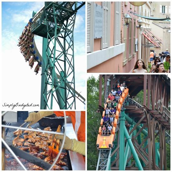 Busch Gardens Attractions