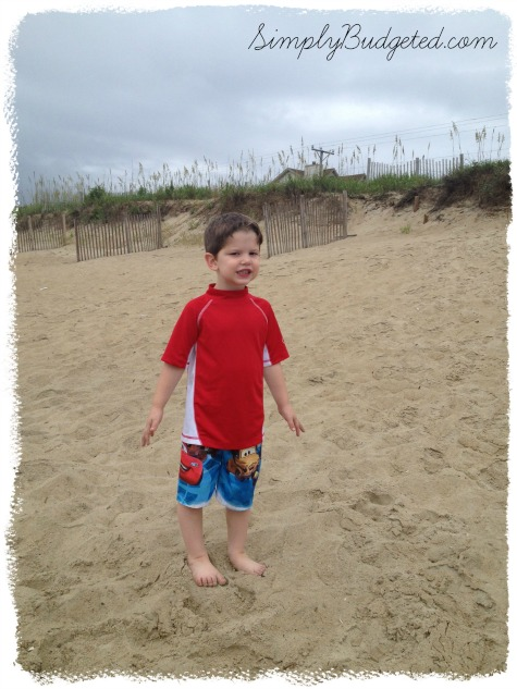 Matthew turns 4 - Outer Banks, NC - July 2013